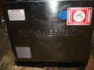 USED BUTCHER BOY TABLE TOP MEAT GRINDER TCA22