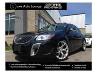 2012 Buick Regal GS w/1SX - NAV, SUNROOF, BREMBO BRAKES, LEATHER