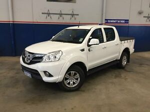 2013 Foton Tunland P201 Quality (4x4) White 5 Speed Manual Dual Cab Utility Beckenham Gosnells Area Preview