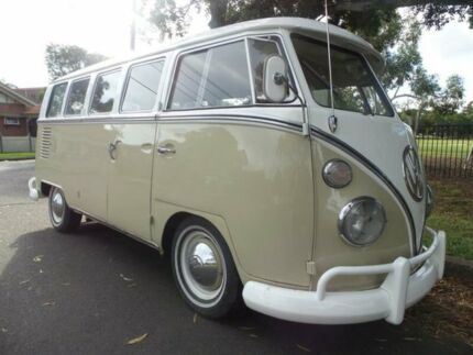 1966 Volkswagen Kombi SPLIT WINDOW 13 WINDOW Beige Manual MICROBUS