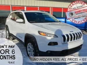 2015 Jeep Cherokee NORTH, ACTIVE WARRANTY, GREAT CONDITION, UNDE