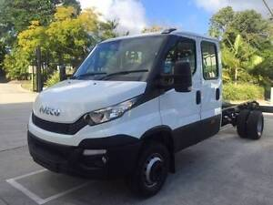 Iveco Daily 70C21 Iveco Dual cab 70C21 Cab chassis Glanmire Gympie Area Preview