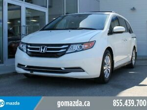 2014 Honda Odyssey EX-L WITH NAVI LEATHER SUNROOF THE LEGEND OF