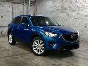 2012 Mazda CX-5 KE1071 Grand Touring SKYACTIV-Drive AWD Sky Blue 6 Speed Sports Automatic Wagon Mile End South West Torrens Area Preview