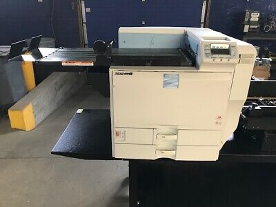 Xante Impressia Envelope Printer W Enterprise Feeder Conveyor Stand
