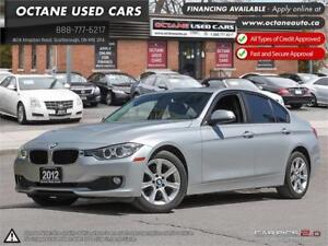 2012 BMW 3 Series 320i ACCIDENT-FREE FINANCING AVAILABLE!