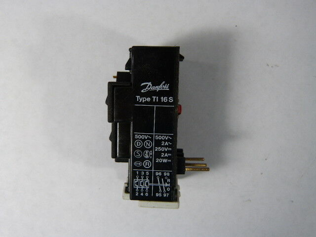 Danfoss TI16-S Thermal Overload Relay 500V  USED