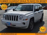 2009 Jeep Patriot Sport, $42/Weekly, NO PAYMENTS UNTIL 2016