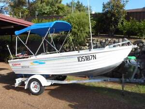 Fishing boat Stacer Nomad 429 2009 Valentine Lake Macquarie Area Preview