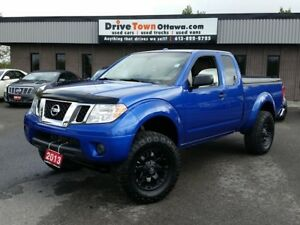2013 Nissan Frontier KING CAB 4X4 SV **LIFTED**