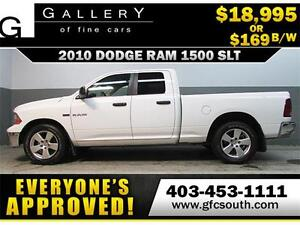 2010 DODGE RAM SLT CREW *EVERYONE APPROVED* $0 DOWN $169/BW!