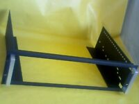 "19"" RACK CRADLE FOR SOUND STUDIO CABINET. V GOOD CONDITION."