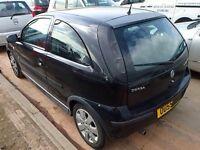 Corsa c 2005 3 door passenger door in black z20r vgc 07594145438