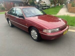 1992 Holden Commodore VP Executive Red 4 Speed Automatic Sedan Croydon Burwood Area Preview