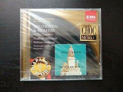 Beethoven & Brahms Violin Concertos CD Wilhelm Steinberg BRAND NEW SEALED