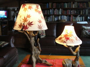 Unique table lamps  $95.00 and $150 or $225  for both Belleville Belleville Area image 1