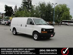 2009 CHEVROLET EXPRESS 2500 CARGO VAN *ONLY 72,000KM*