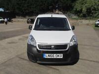 Peugeot Partner 850 1.6 Hdi 92PS L1 Professional Van DIESEL MANUAL WHITE (2016)