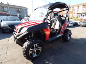 "2011 CF MOTO SNYPER 600 EFI ""SIDE BY SIDE"" (AUTOMATIQUE, 4X4!!!)"