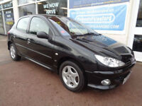 Peugeot 206 1.4 8v auto 2005 SE F/S/H Low mileage P/X to Clear