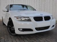 BMW 3 Series 320d 2.0 Efficient Dynamics ....Absolutely Stunnning in White, with Black Alloy Wheels