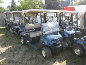 SALE! 2008 EZGO RXV 48v Electric Golf Cart Patriot Blue