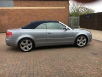 Audi A4 Sline TDI 2Dr Covertible 2008/2009