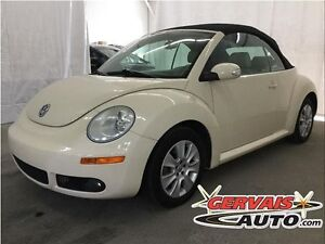 Volkswagen New Beetle Convertible Cuir A/C MAGS 2008