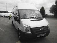 Ford Transit T350 LWB TDCI High Roof 100Ps Utility Van DIESEL MANUAL (2013)