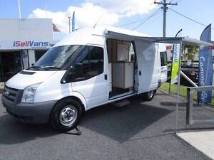 2010 FORD TRANSIT CAMPERVAN SHOWER/TOILET - Own from $183p/w Currumbin Waters Gold Coast South Preview