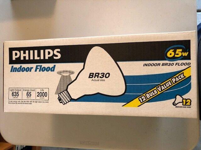 Philips Indoor BR30 Flood Light Bulb: 2710-Kelvin, 65-Watt,