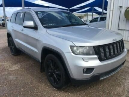 2012 Jeep Grand Cherokee WK MY12 Laredo (4x4) Silver 5 Speed Automatic Wagon Bohle Townsville City Preview