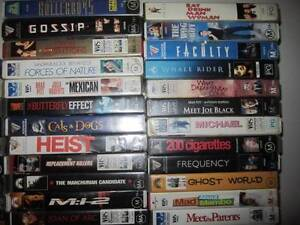 VHS Video Tapes Movies Belmont Brisbane South East Preview