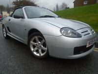 Mg-tf 1.6 Convertible 2005 (05) reg, Met Silver, 2 dr, Only 58k, Mot Dec 2017
