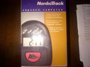 New NordicTrack Abworks Computer $15