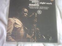 Vinyl LP Night Work – Sonny Stitt & The Giants Black Lion BLP 30154 Stereo 1974