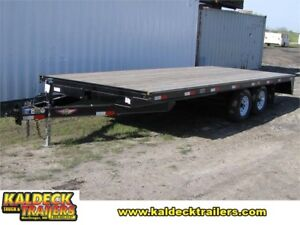 H&H HDL Hi-Deck Trailer