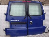 VW T5 TRANSPORTER BARN DOOR BLUE LL5M COMPLETE MINTO