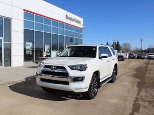 2019 Toyota 4Runner Limited 7 Passenger, brown leather, nav, bac