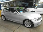 2007 BMW 130i E87 MY07 Upgrade Sport Silver 6 Speed Auto Steptronic Hatchback Victoria Park Victoria Park Area Preview