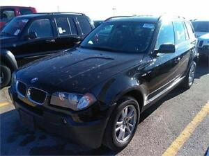 2006 BMW X3 2.5i, AWD , Leather, Panoromic Roof , 164k $5850.