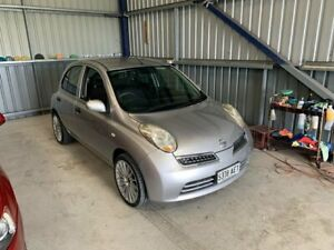 2009 Nissan Micra K12 Silver 4 Speed Automatic Hatchback Lonsdale Morphett Vale Area Preview