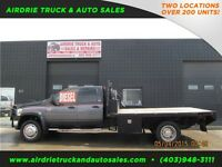 2008 Dodge Ram 4500 Crew Cab 8FT Flat Deck With Slip Tank