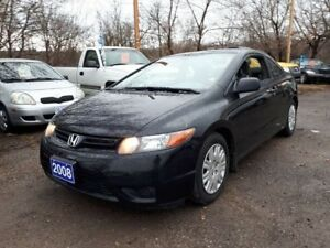 2008 Honda Civic Cpe LOW KMS!..certified