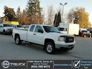 2012 GMC SIERRA 2500HD SLE EXT CAB LONG BOX 4X4