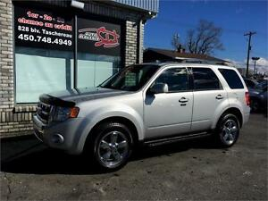 2009 FORD ESCAPE LIMITED 4WD CUIR+TOIT+MAGS CHROME