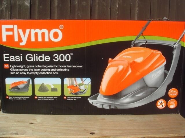 Brand New Sealed in Box Flymo Easi Glide 300in Castlereagh, BelfastGumtree - Brand New Sealed in Box Flymo Easi Glide 300 Features Power 1300W Length of blade 30cm Cutting width 30cm Cutting height range 10mm 33mm Length of cord 12m Material of handle Metal Collection capacity 20L Weight 8.8kg Selling due to it being a moving...
