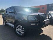 2014 Toyota Hilux KUN26R MY14 SR5 (4x4) Grey 5 Speed Automatic Dual Cab Pick-up Slacks Creek Logan Area Preview