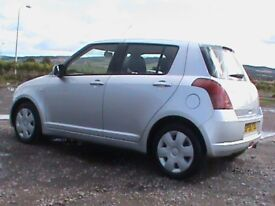 SUZUKI SWIFT 1.3 GL 5 DR,SILVER,1 YRS MOT,MEW DISCS/PADS FITTED,CLICK ON VIDEO LINK TO SEE MORE INFO