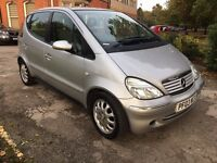 Mercedes A Class 1.4 A140 Automatic LWB Full service history low mileage 65,000 miles